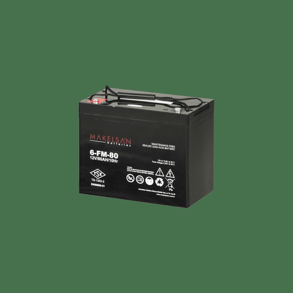 باتری MAKELSAN 6-FM-80
