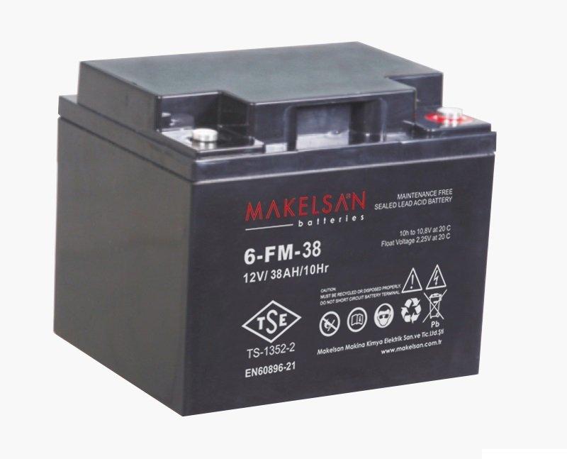 باتری MAKELSAN 6-FM-38