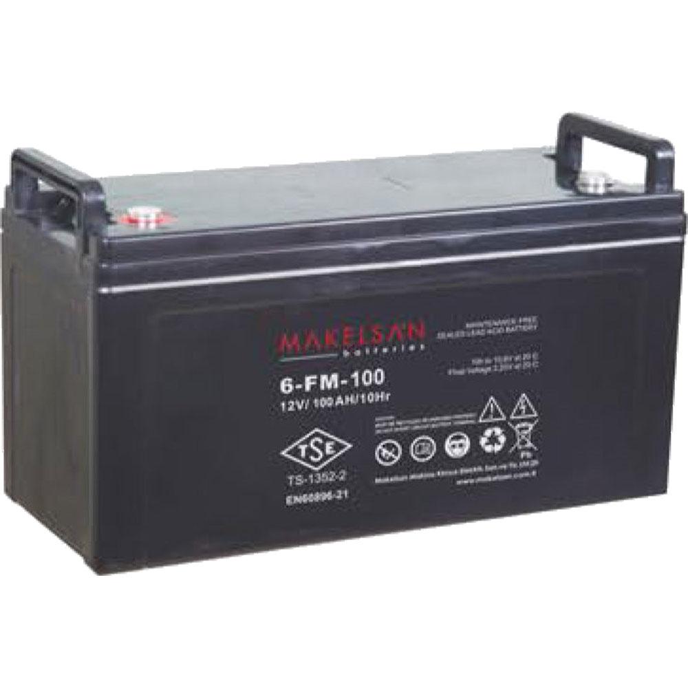 باتری MAKELSAN 6-FM-100