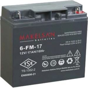 باتری MAKELSAN 6-FM-17