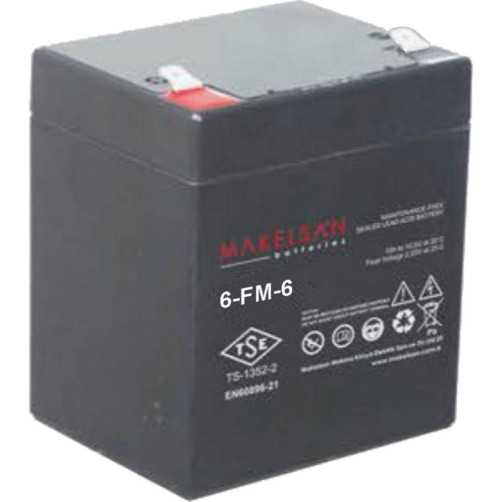 باتری MAKELSAN 6-FM-6