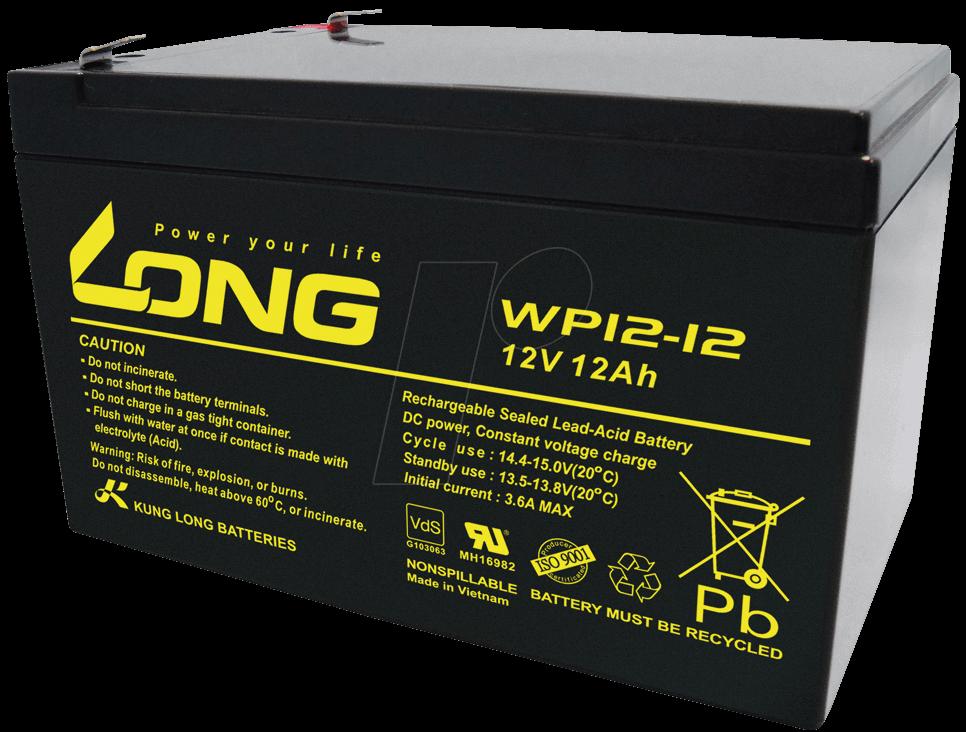 باتری LONG WP_ 12AH
