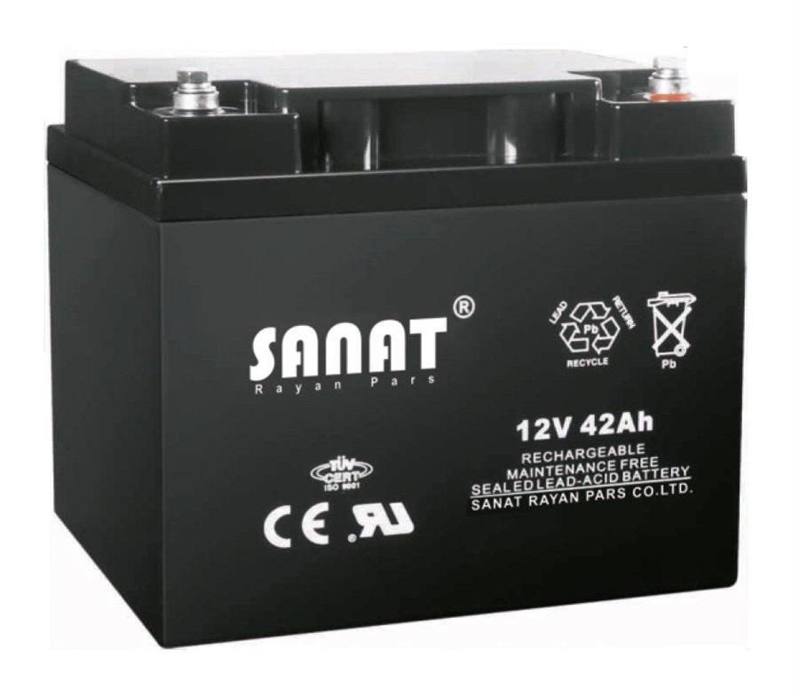 باتری یو پی اس مکلسان 12v